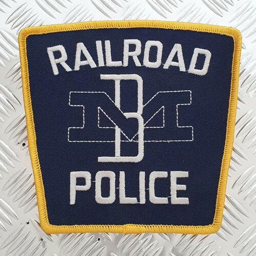 Railroad Police Patch Boston & Maine