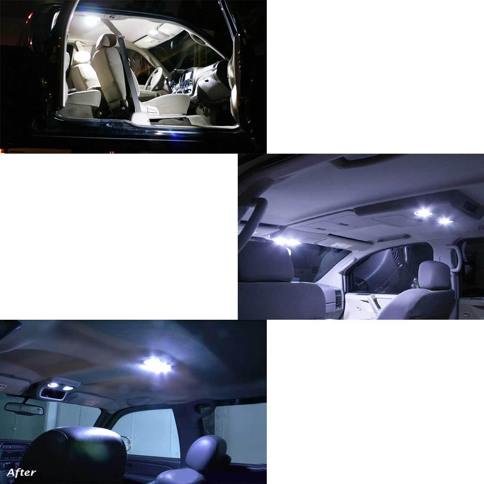 10x T10 921 194 White Rv Trailer Interior 12v Led Light Bulbs 24 Smd Picclick