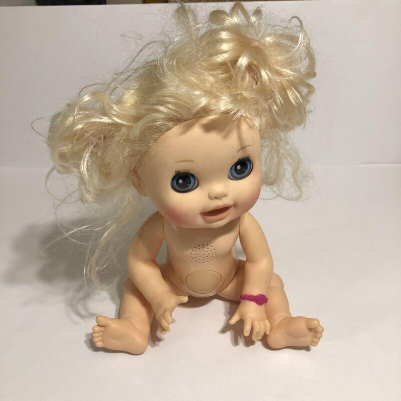 Hasbro Baby Alive Real Surprises Hispanic Blonde English Spanish 2012 Works