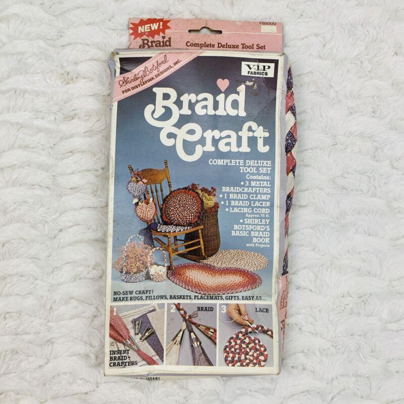 Vintage 1987 Braid Craft Lacing Tool Set Shirley Botsford Distlefink Designs
