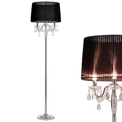 *Edel* Stehleuchte Stehlampe Lampe Wohnzimmerlampe Leuchte Standleuchte Kristall ()