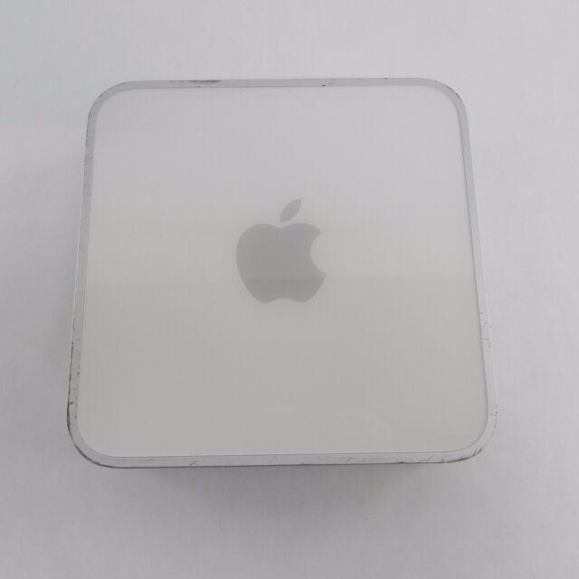 Apple Mac Mini A1103 2005   G4   80GB   DVD/CD-RW   Bluetooth   Firewire