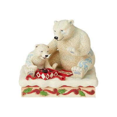 Enesco Coca Cola Holiday Treat Figurine Jim Shore 6003597 *BNIB*Mama & Baby Bear ()