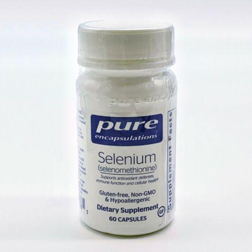 Pure Encapsulations Selenium Antioxidant, Immune, Cellular Health 60 Capsules