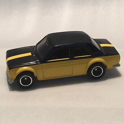 2019 Hot Wheels Exclusive '71 Datsun Bluebird 510 from 50 Car Display Case VHTF