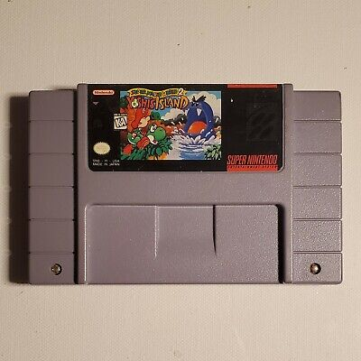 Super Mario World 2: Yoshi's Island (Entertainment System, 1995) Tested