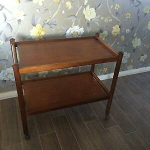 Parker Teak Drinks Trolley Vintage Mid Century Pagewood Botany Bay Area Preview