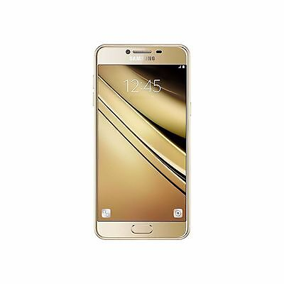 New Samsung Galaxy C7 SM-C7000 GOLD 32GB Duos 5.7'' 16MP  (FACTORY UNLOCKED) , used for sale  Shipping to India