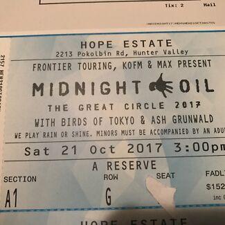 Midnight Oil Hope Estate - Oct 21