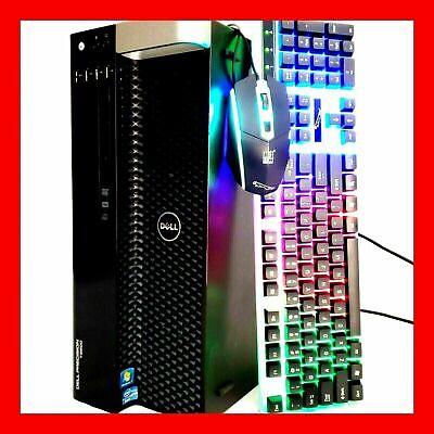 32GB RAM Nvidia GTX 1650 Gaming PC Desktop Computer Xeon = Intel i7 512GB SSD