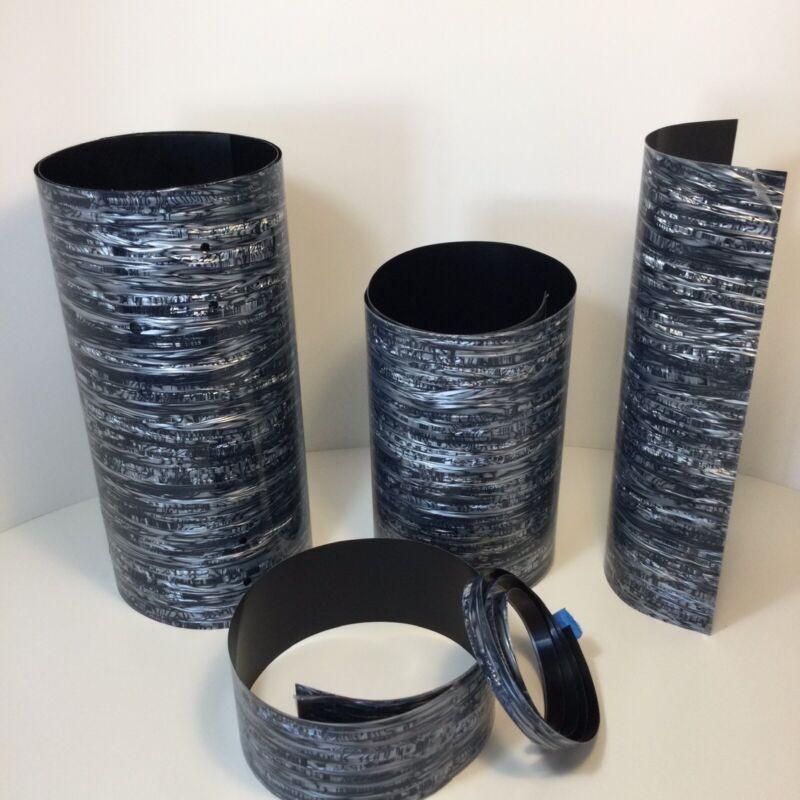 Drum Wrap Black Strata