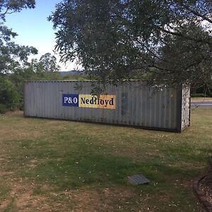40ft HC Shipping Container (used) Samford Valley Brisbane North West Preview