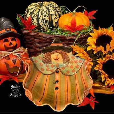 Halloween Witch Candy Bowl Made in Italy