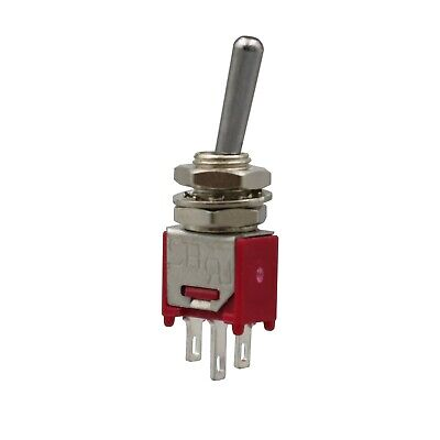 2pcs Sh Ts4 Sub Miniature On-on Maintained 3pin Spdt Mini Toggle Switch