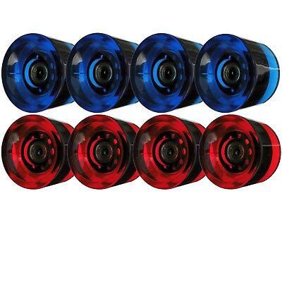 Räder Rollen 70x51mm 76A ABEC9 oder ohne Kugellager für Longboard Skateboard