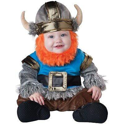 Lil Viking Costume 6-12 Months Baby Infant Warrior