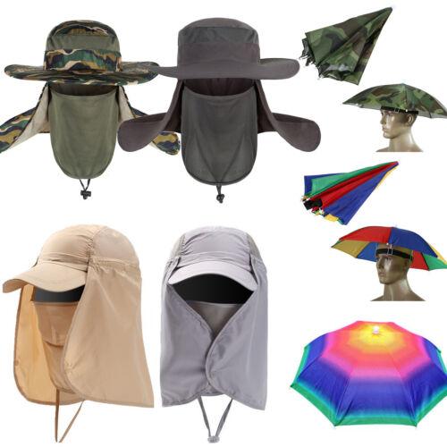 Herren Damen Fischerhut Sommer Anglerhut Bush Bonnie Regenschirm Hut Sonne Mütze