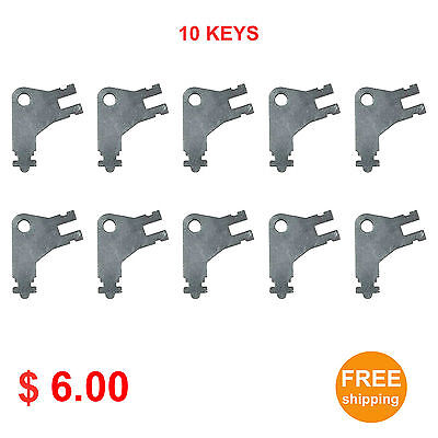 Cormatic Dispenser Key 50504 For Paper Towel Toilet Tissue Dispensers 10pcs