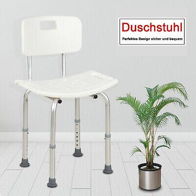 Duschhocker Badehocker Duschstuhl Badesitz Badehilfe Armlehne