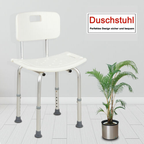 Duschhocker Badehocker Duschstuhl Badesitz Badehilfe Armlehne höhenverstellbar