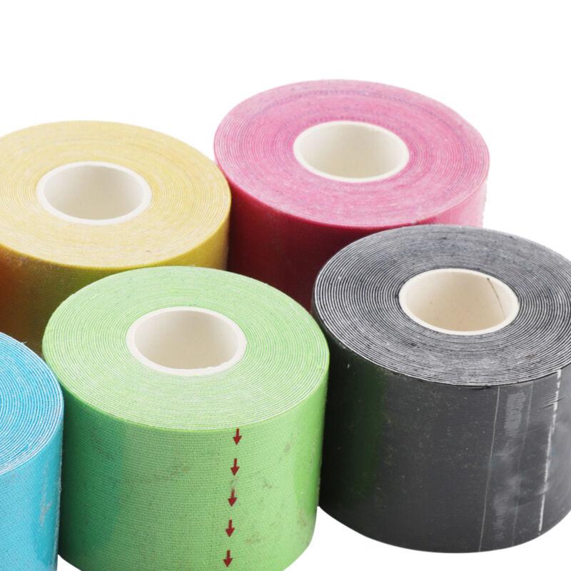 6 Kinesiologie Tape Farben Bänder Kinesiology Physiotape 5cmx5m Beförderung 6