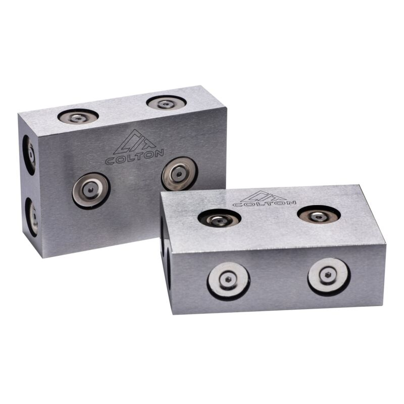 Colton Industrial Tools Magnetic 123 Blocks Ultra Precision Matched Set
