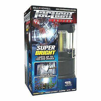 Bell + Howell Ultra Bright Portable Outdoor LED Taclight Lantern As Seen on TV!