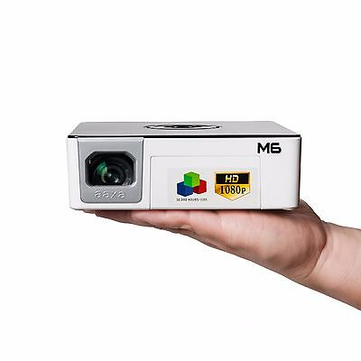 AAXA M6 LED FULL HD Projector,1200 Lumens,Battery Powered,1920x1080p (REFURB) for sale  Shipping to India