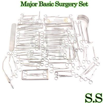 Major Basic Surgery Set Set 161 Pieces Surgical Instruments-s.s-561
