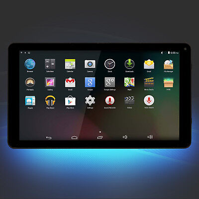 "Android 6 Tablet 25,7cm 10,1"" Denver TAQ-10242 8GB QuadCore 1,2 GHZ WiFi schwarz"