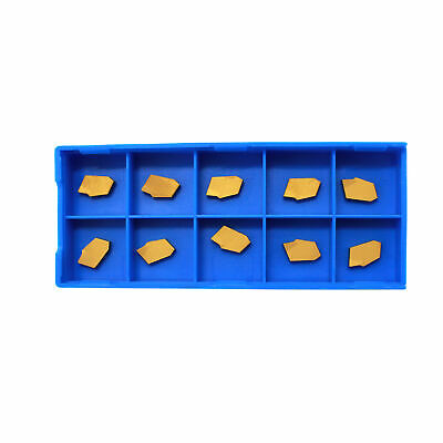 Hfsr Gtn-2 Tin Coated Carbide Inserts 10 Pcsbox