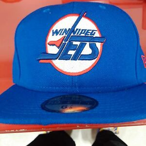 Winnipeg Jets fitted New Era hats