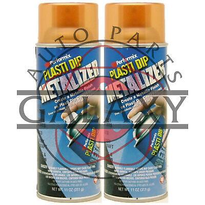 Performix 11236 Plasti Dip Metalizer Copper- X2 11 Oz. Spray Can
