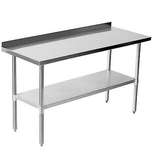 Stainless Steel Table eBay