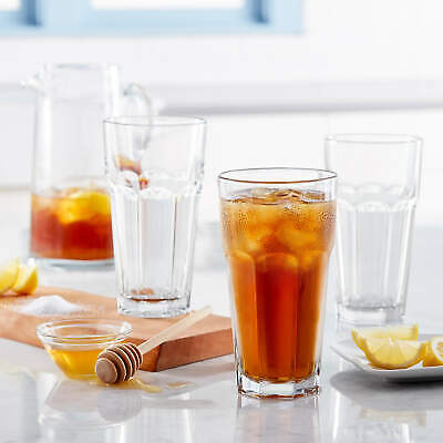 Libbey Gibraltar Iced Tea Glasses Set, Libbey Gibraltar Iced Tea Glasses Set Of 12