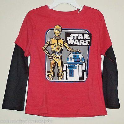 Star Wars C3PO & R2D2 Droids Infant/Toddler T-Shirt (AVAILABLE SIZES: 12m-5T)