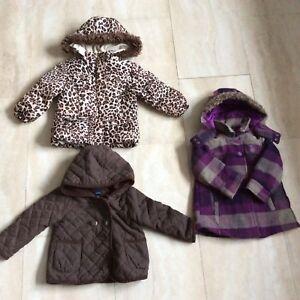 Girls jackets (size 2)