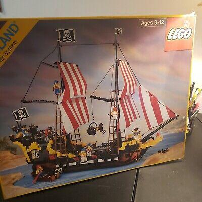 LEGO 6285 PIRATES Black Seas Barracuda 1989 near Complete w/Instructions & box