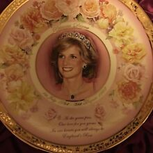 Princess Diana England's rose collector plate rare Nowra Nowra-Bomaderry Preview