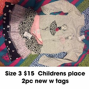 Girls size 3 children's place outfits. $15 each pic