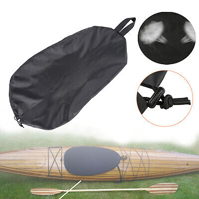Rain And Bugs Leaves SmallPocket Kayak Cover Waterproof For Outside Storage Kayak Cockpit Cover Sun Protection Dust Cover Kayak Accessories Prevent Kayak Cockpit From Entering Dirt Snow