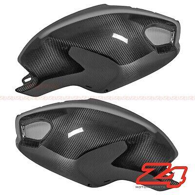 Ducati 696 796 1100 Gas Tank Upper Side Cover Panel Fairing Cowling Carbon Fiber