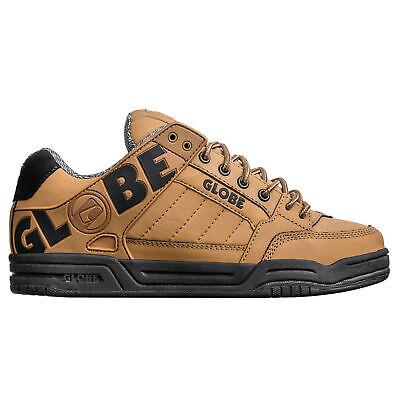 Globe Tilt Skate Shoes Trainers Wheat Black Action Nubuck TPR ()
