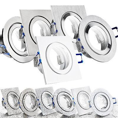 LED Bad Einbaustrahler Set IP44 GU10 230V 1W 3W 5W 7W dimmbar Feuchtraum MARE ()