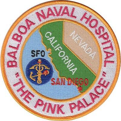 Balboa Naval Hospital Naval Medical Center San Diego MILITARY PATCH