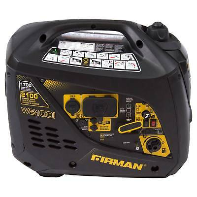 17002000w Portable Gas Inverter-carb Compliant - Black - Firman Power
