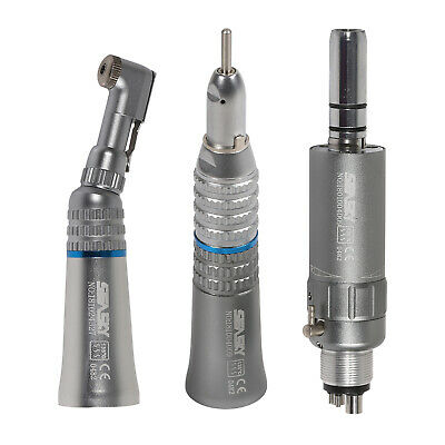 Dental Low Speed Handpiece Straight Contra Angle Air Motor Micromotor 4h2h