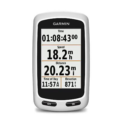 Garmin Edge Touring Bike Cycling Computer GPS Touchscreen Silver