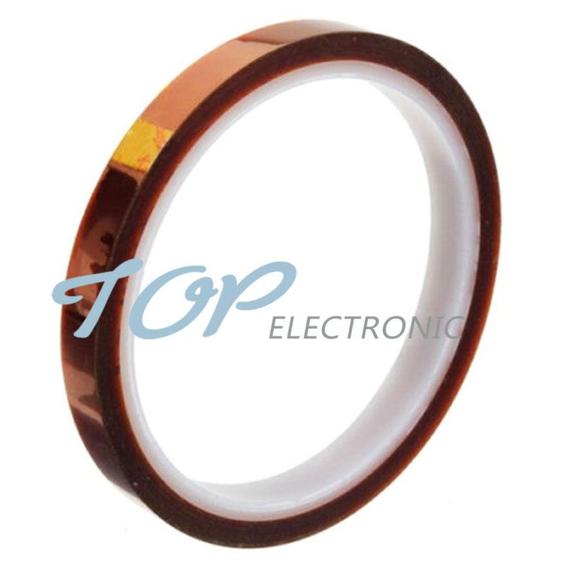 10mm 100ft BGA High Temperature Heat Resistant Polyimide Gold Kapton Tape
