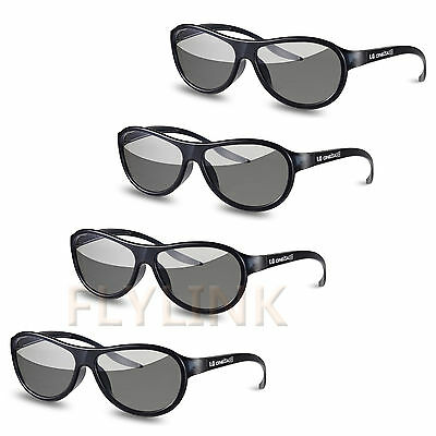 4pcs AG-F310 3D Gafas Polarizado Gafas Pasivo Para LG Tcl Samsung sony...